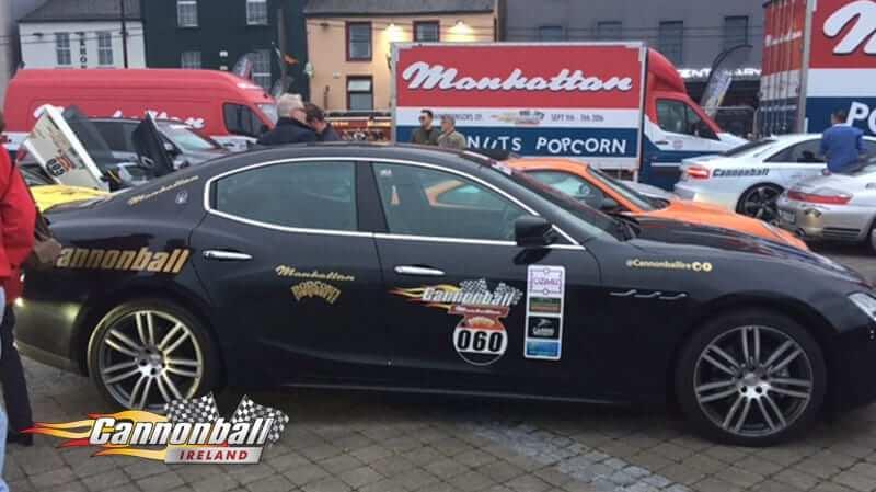 Cannonball Supercars Roadtrip Accepted Car 2017