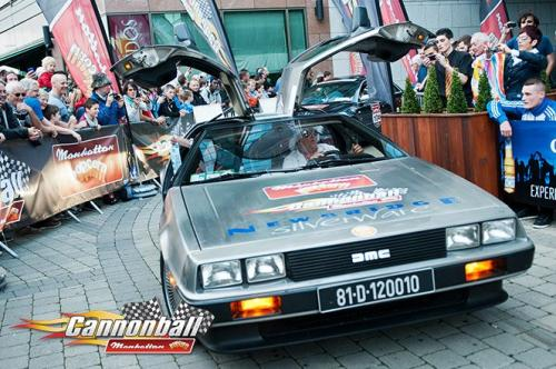 de lorean time machine supercars