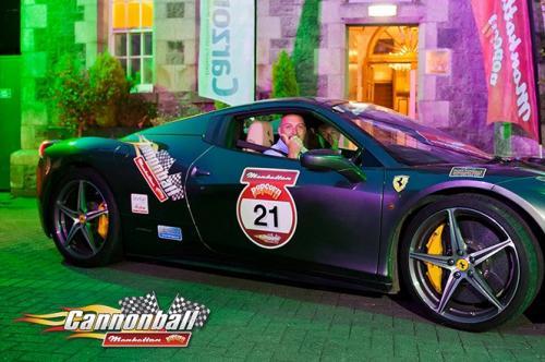 ferrari super car ireland