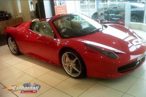 30 Ferrari 458 spider