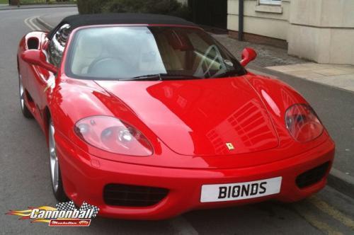 42 Ferrari 360Spider