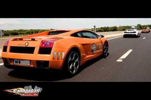 A Lamborghini Gallardo